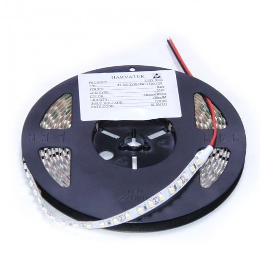 LED-Strip-PW Kaltweiss HT-BS-5050-PW-T60-12V