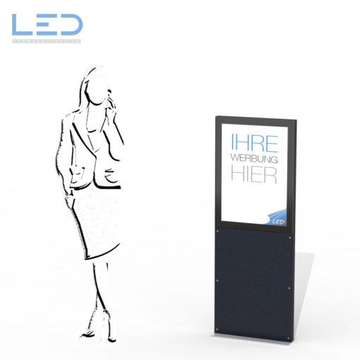 Bildergebnis für A2 LED Stele, Leuchtreklame, Leuchtwerbung, LED-Pylonen, LED-Stelen, Werbesäule, Firmenbesriftung, Signalisation