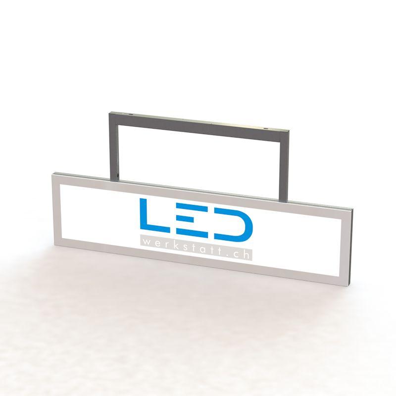 SA-15012 LED Abhängeschild RAL9003 LED Leuchtreklame, Leuchtwerbung