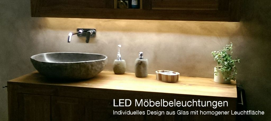 LED Möbel-Beleuchtung, Umleuchtung, Hinterleuchtung, Spiegelschrank Beleuchtung, Bad