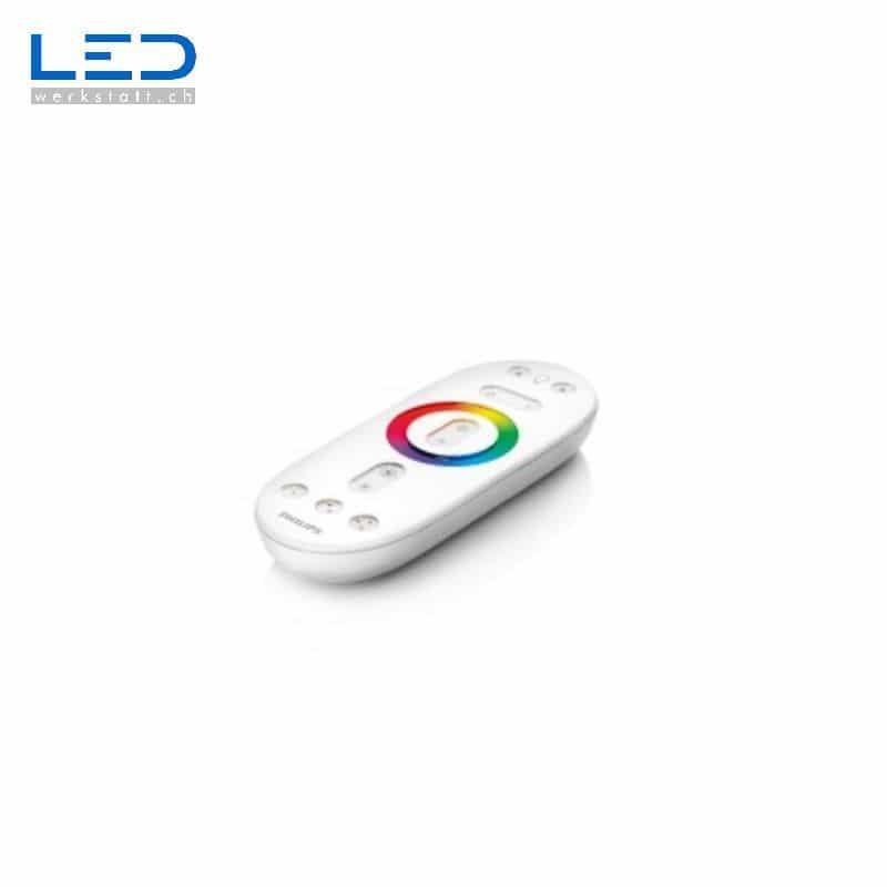 RGB Fernbedienung Weiss zur Regelung von RGB Strips (ohne Controller)