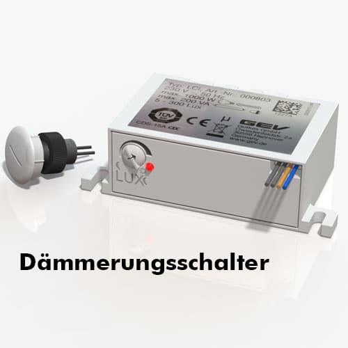 LED Dämmerungsschalter zu Stelen und Pylonen