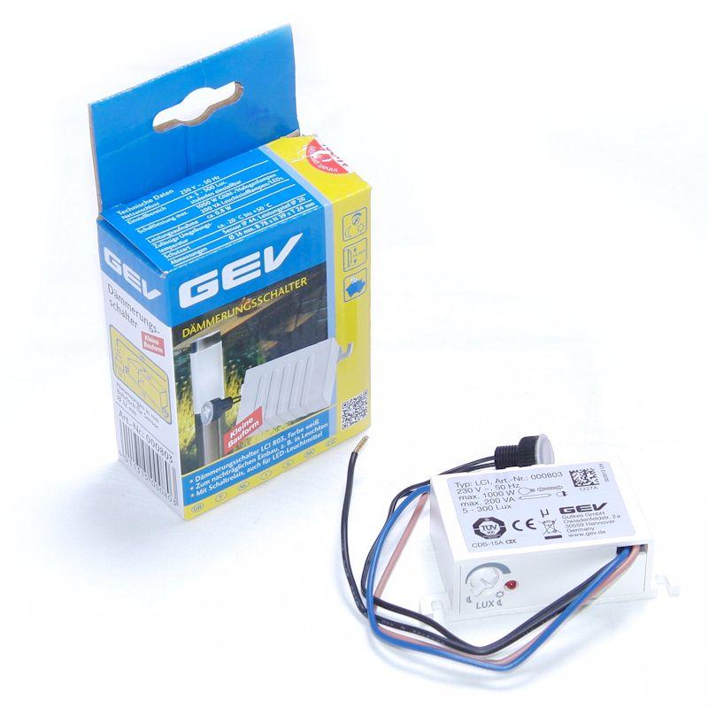 GEV-Dämmerungsschalter LCI 803 Stelen und Pylonen