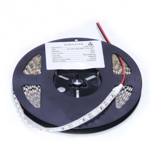 LED-Strip Flex HT-BS-3528-WW-T120-12V