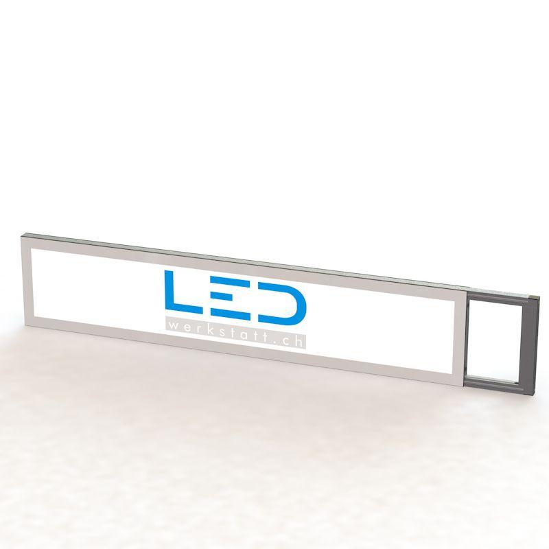 Leuchtreklame Stechschild 25 x 150 cm, Panneaux Publicitaires