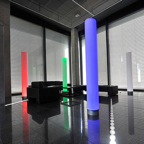 LED Werbeleuchtsäulen