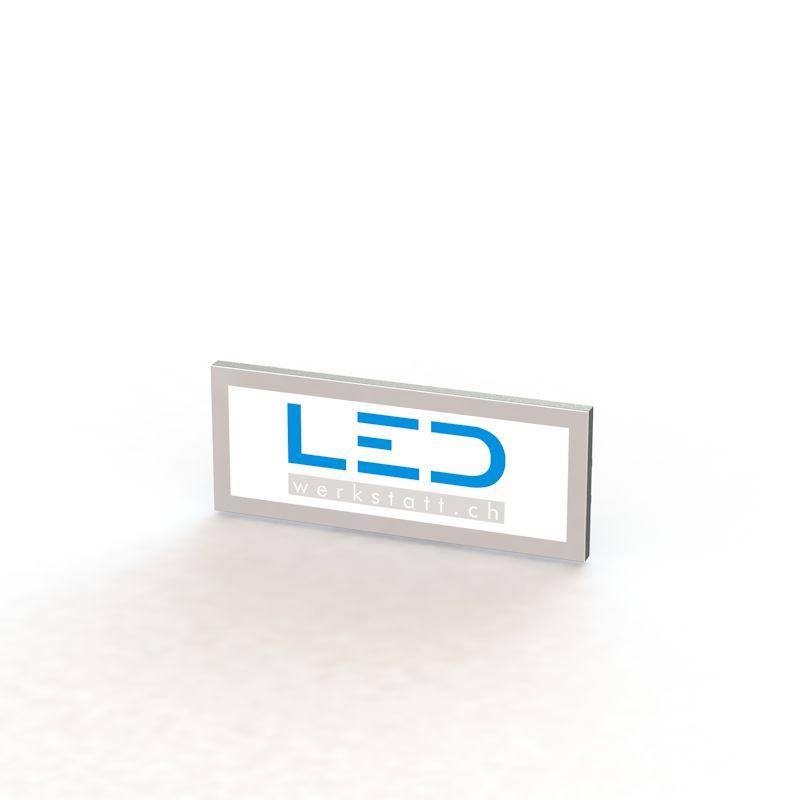 LED Werbetafel 25 x 75cm, Panneaux Publicitaires, insegne pubblicitarie, Advertising signs