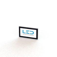 LED Leuchtschild RAL9005, Panneaux Publicitaires, insegne pubblicitarie, Advertising signs