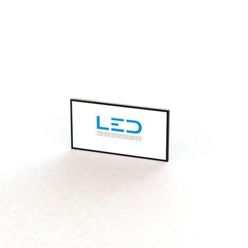 LED Leuchttafel 100x200cm RAL9005, Panneaux Publicitaires, insegne pubblicitarie, Advertising signs