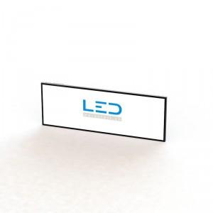 LED Leuchttafel 100x300cm RAL9005, Panneaux Publicitaires, insegne pubblicitarie, Advertising signs
