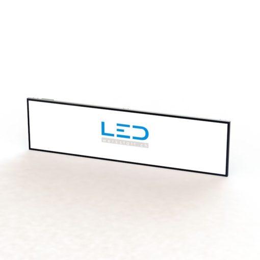 LED Leuchttafel 100x400cm RAL9005, Panneaux Publicitaires, Leuchtkasten, LED Leuchtschild, Enseignes au néon, illuminated sign, neon sign