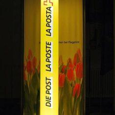LED Leuchtsäule Post