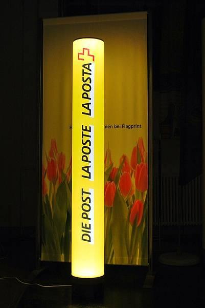 LED Leuchtsäule Post, LED Werbesäule