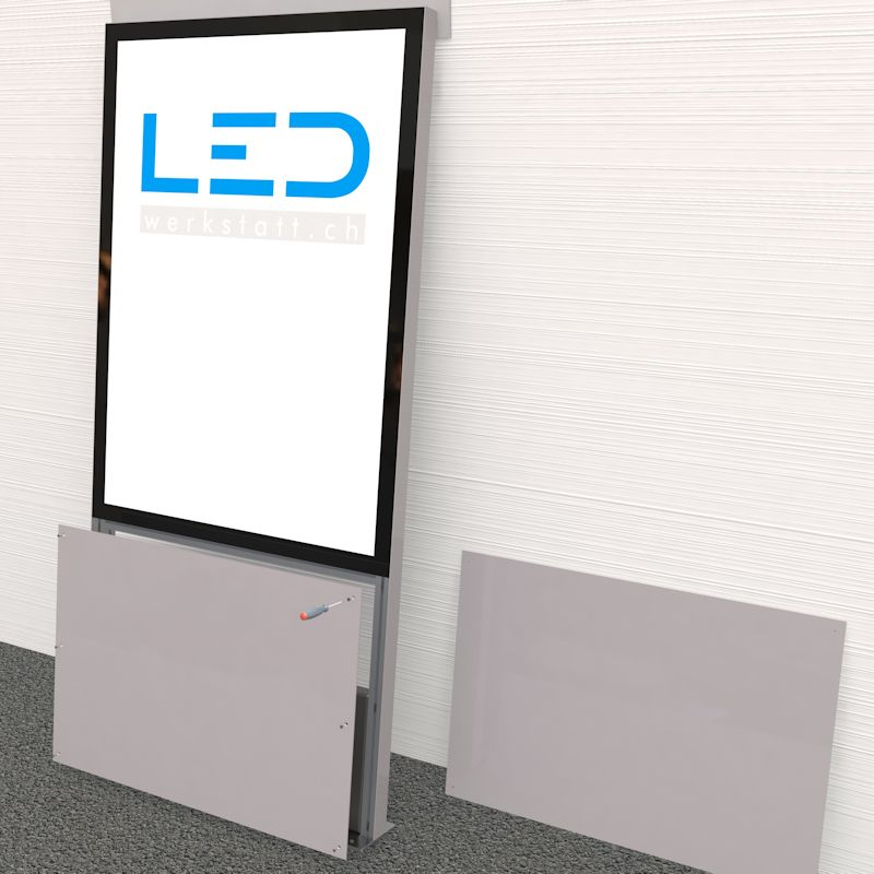 Montageanleitung LED Stele & Pylone