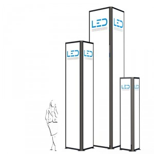 Stelen und Pylonen, Totem, Werbeturm, LED-Advertising-Tower