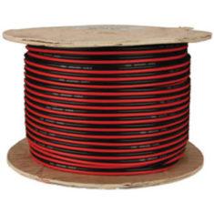 Kabel 2x0.75mm2 rot/schwarz für 12-24V LED