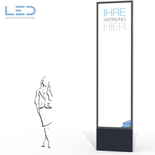Bildergebnis für LED Werbepylone 4000x1000 Panneau, Totem publicitaire, Leuchtreklame, Leuchtwerbung, LED-Pylonen, LED-Stelen, Leuchtkasten