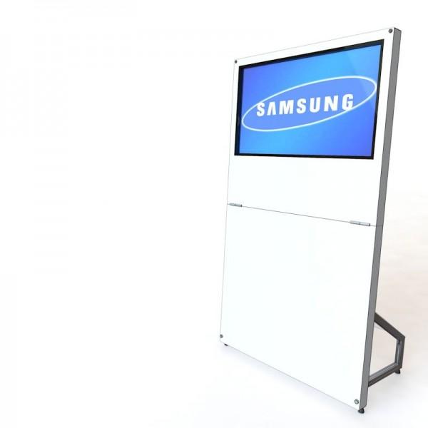 MobyTouch Monitorstele 40', Digital Signage, mobile Präsentation
