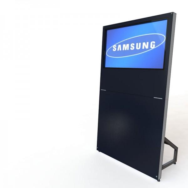 MobyTouch Monitorstele 40', mobile Präsentation