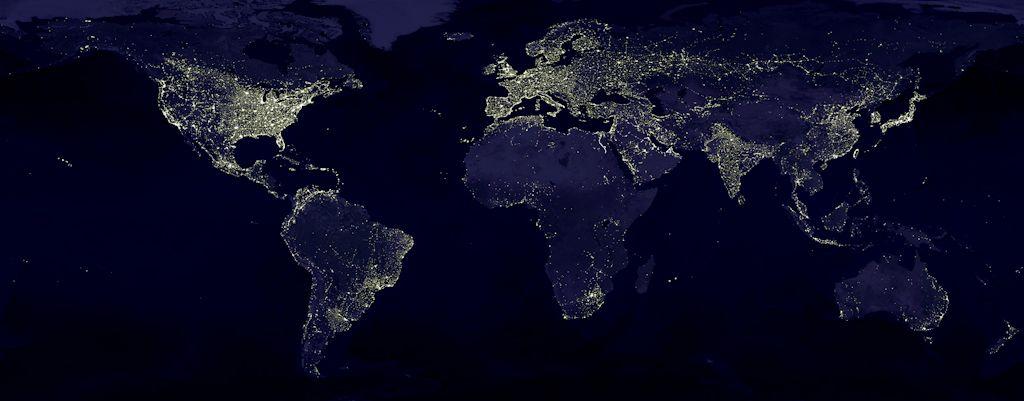 Lichtverschmutzung Weltweit