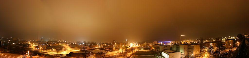 Lichtverschmutzung in Städten