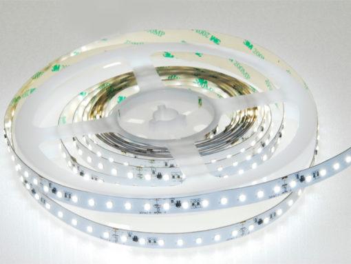 LED-Strip Flex 4900-V inklusive Stromregelung und separatem Dimmkanal. Lichttemperaturen 2700K, 3000K, 4000K oder 5700K. Konverter im Shop LEDwerkstatt.ch.