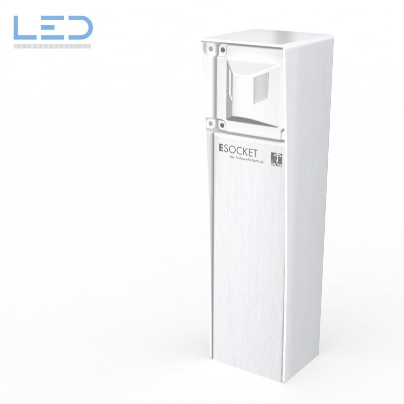 Bewegungsmelder Sockel, prise de courant, outdoor socket
