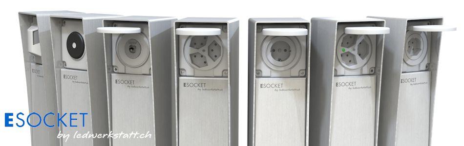 Elektrosäule ESOCKET 350 und 900