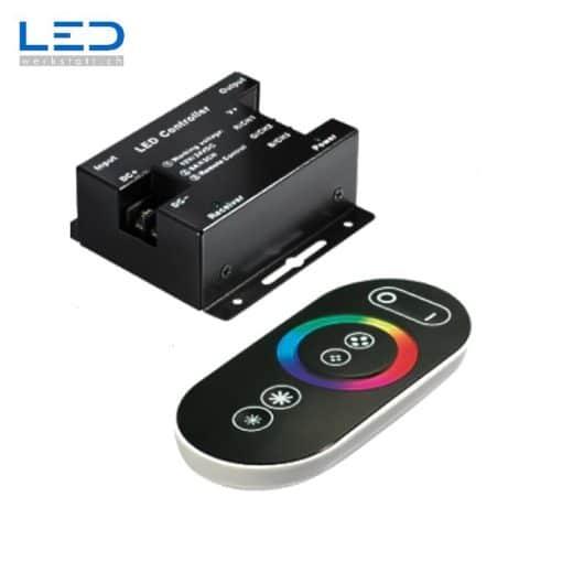 Fernbedienung RGB Touch mit Controller für RGB LED Strips DC 12-24V