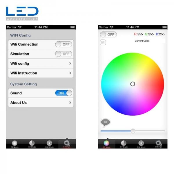LED-WiFi-Controller-Eucolor402 Software