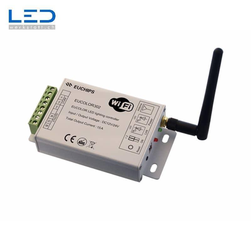 LED WiFi Controller Eucolor402 für sie Ansteuerung von RGB W Strips