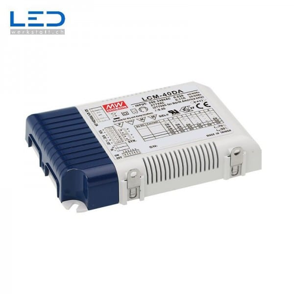 MeanWell LCM-40DA LED PowerSupply, Konverter, Trafo, LED Netzteile