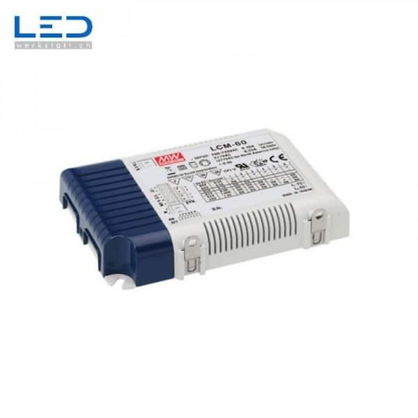 MeanWell LCM-60 LED PowerSupply, Konverter, Trafo, LED Netzteile mit CE Zertifikat