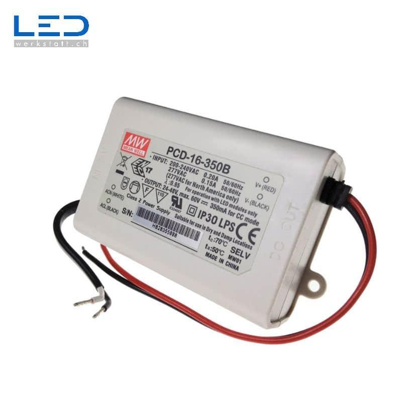 MeanWell PCD-16 Series, PowerSupply, Konverter, Trafo, LED Netzteile
