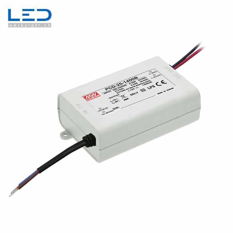 Bildergebnis für MeanWell PCD-25 Series PowerSupply, Konverter, Trafo, LED Netzteile