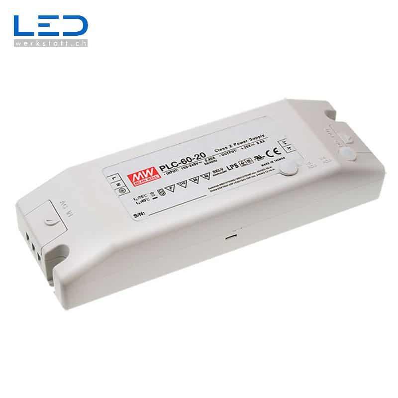 Bildergebnis für MeanWell PLC-60 Series PowerSupply, Konverter, Trafo, LED Netzteile