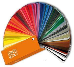 RAL Farbwahl, Steckdosensäule in RAL Farbe, Schwarz, Weiss, Sonderfarben