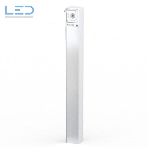 Steckdosensäule mit Schlüsselschalter ESOCKET 900 für Ihre Einfahrt oder Tiefgarage
