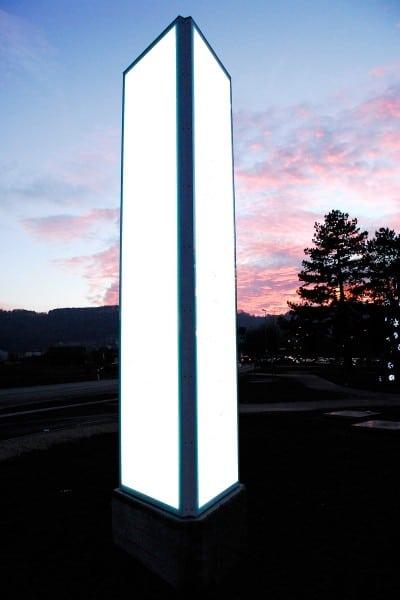 Leuchtwerbung Stein (AG)
