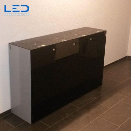 Abfallbehälter, Wertstoffbehälter, Abfalltrennsystem Monolith Quattro;