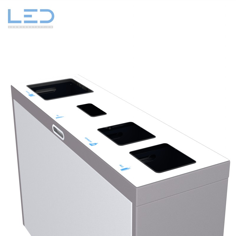 Bildergebnis für Recyclingstation, Wertstoffbehälter, Abfall Trennbehälter, Recycling Station, Waste Bin, Abfallbehälter