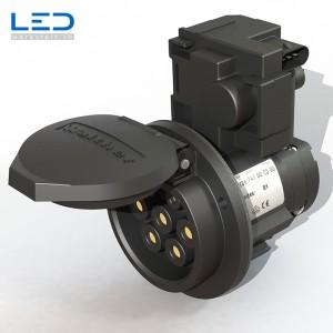 E-Mobility Ladesteckdose Typ 2 nach IEC 62196-2, Ladestation für Elektroauto
