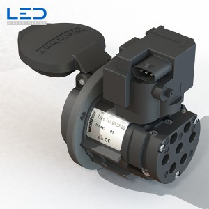 E-Mobility Steckdose Typ 2 IEC 62196-2, Ladestation für Elektroauto