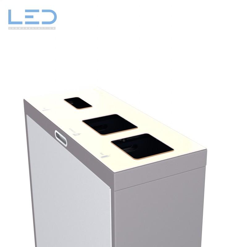 Recyclingstation Multilith 3 für eine moderne und saubere Abfalltrennung