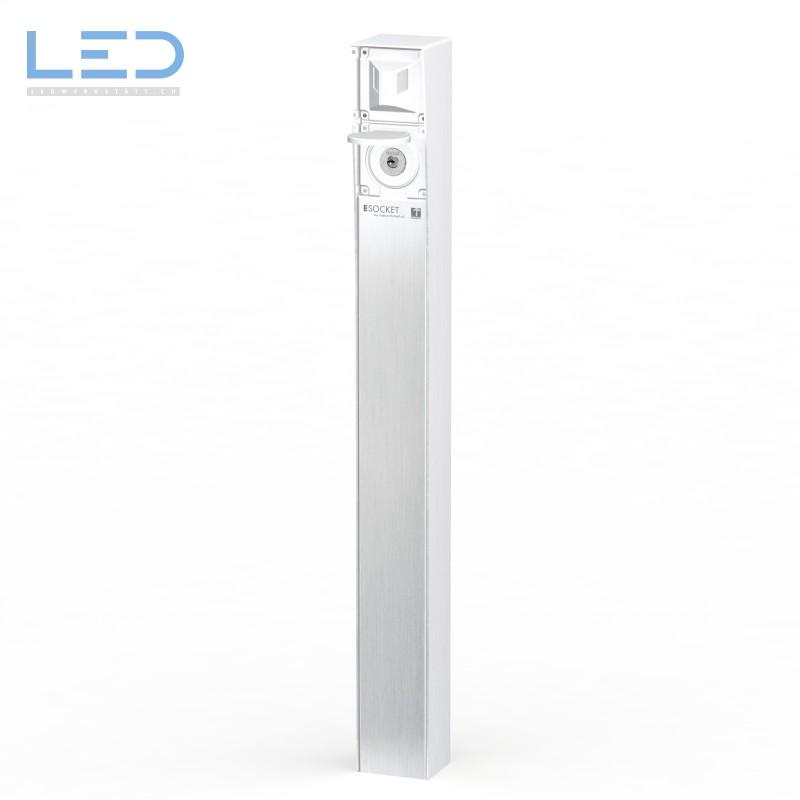 Steckdosensäule-ESOCKET 900 mit Bewegungsmelder & Schlüsselschalter