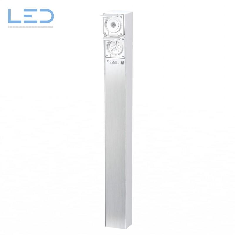 Steckdosensäule ESocket 900, Schlüsselschalter mit 3 x T13