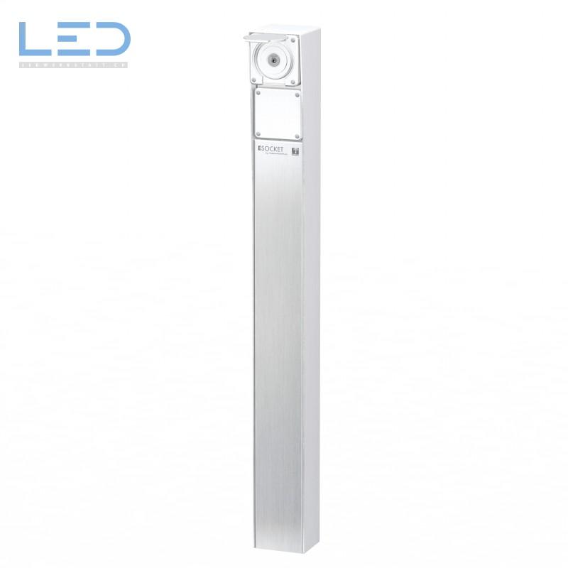 Steckdosensäule ESocket 900, Schlüsselschalter mit Blinddeckel