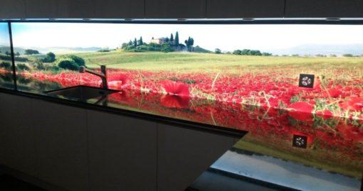 Bildergebnis für Beleuchtete Küchenrückwand Toskana
