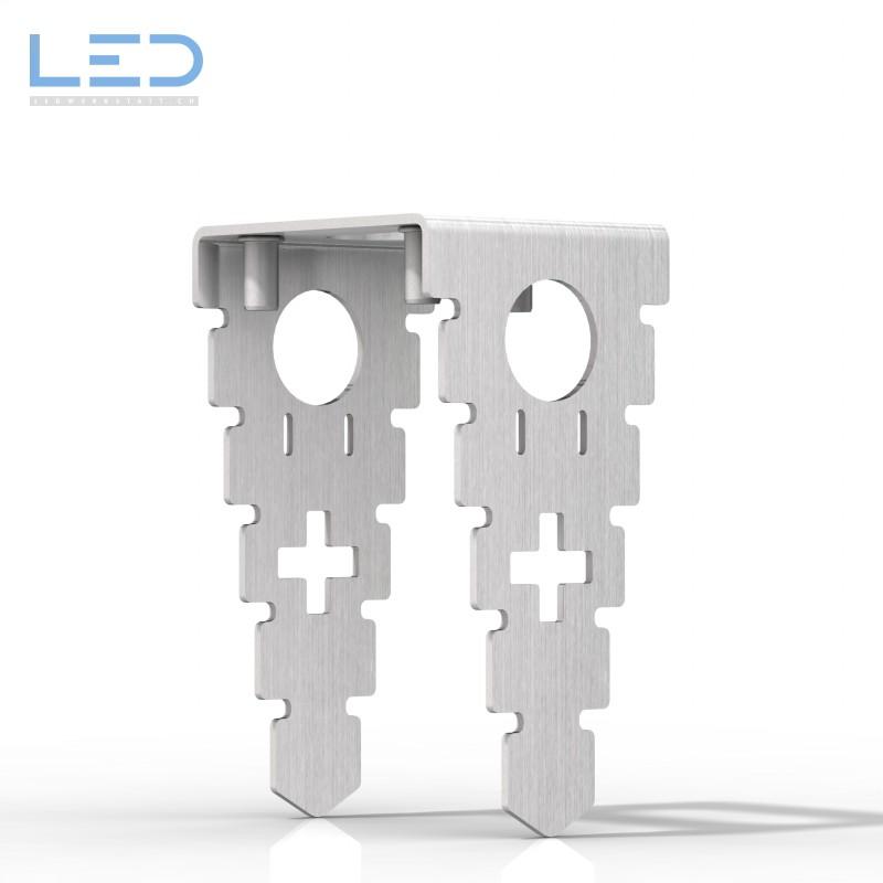 Ankerkorb ESOCKET für Steckdosensockel, Steckdosensäulen, Standascher und Sockelleuchte der Design Linie ESOCKET 350 und 900, Elektromaterial