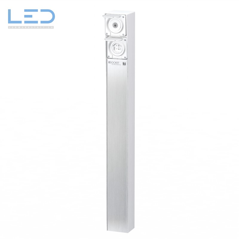 Steckdosensäule ESocket 900, Schlüsselschalter mit T15
